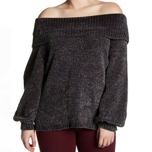BREATHLESS Cowl Neck Sweater(plus size)